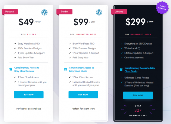 brizy price Brizy Page Builder Review: Better Than Others? Worth Using?
