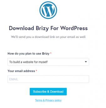 brizy How To Build A Website
