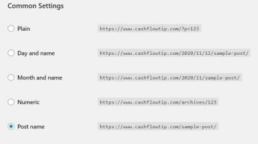 settinga How To Build A Website