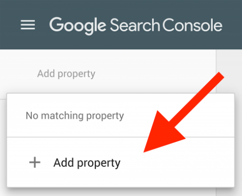 google search console add property How To Build A Website