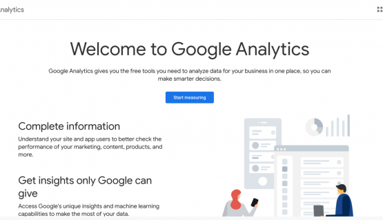 google analytics start measuring How To Build A Website