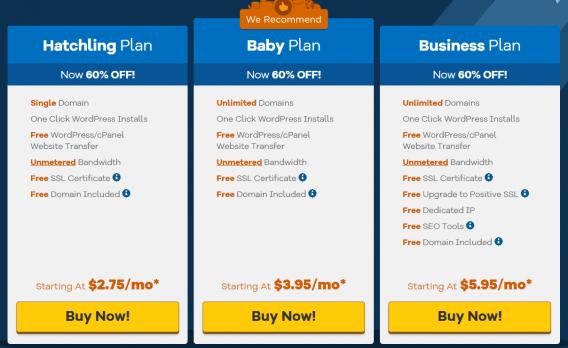 hostgator pricing cashflowtip HostGator Hosting Review: Is It Fast? Worth Buying?