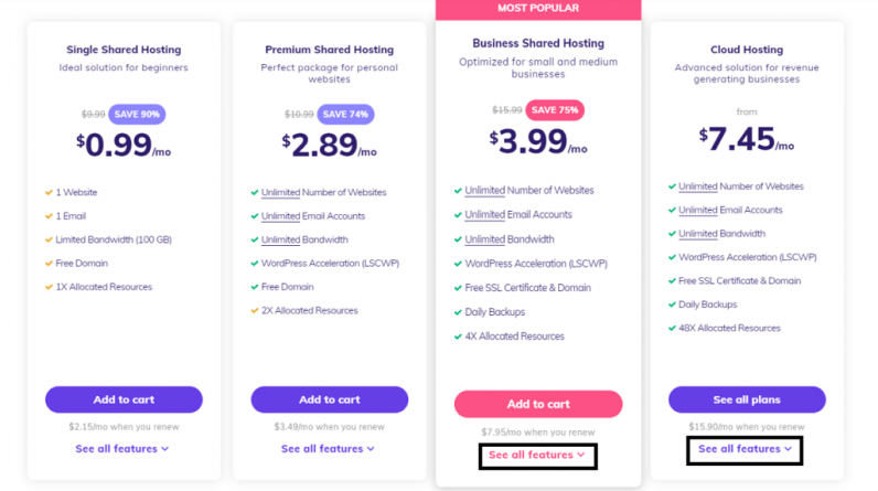 hostinger pricing cashflowtip